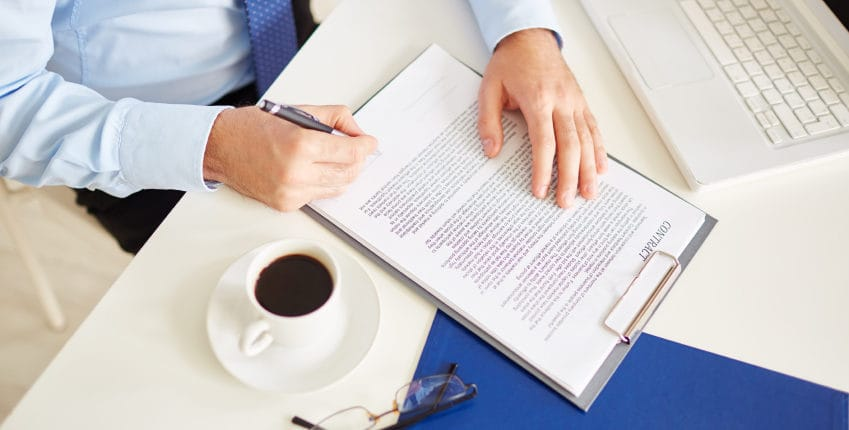 Contract Litigation process with an attorney
